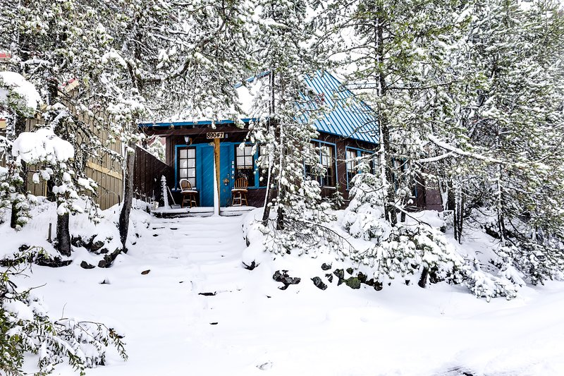 Rustic and serene cabin w/ great home essentials, close to skiing!, holiday rental in Timberline Lodge