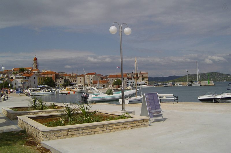 Seafront Apartment Betina Murter Croatia 1, vacation rental in Betina