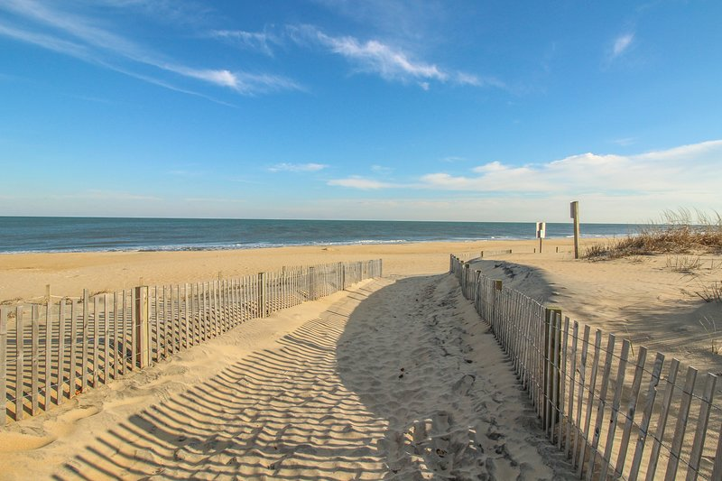 oceanfront beach condo w   shared pool  walk to delaware