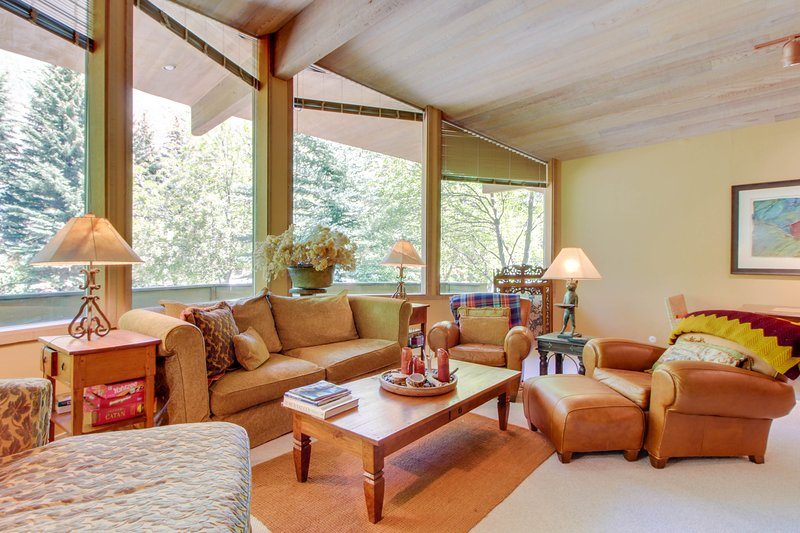 Secluded family home near the slopes of Bald Mountain with private hot tub!, vacation rental in Ketchum