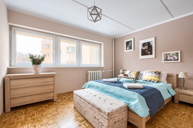 Two bed. Apartment STEGNY 3, location de vacances à Jozefow