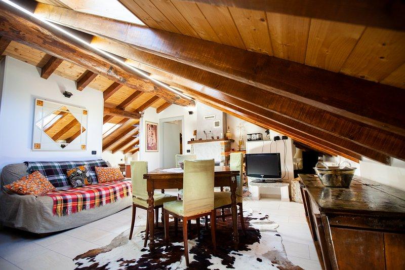 Antica Molina - Appartamento Faggeto, holiday rental in Palanzo