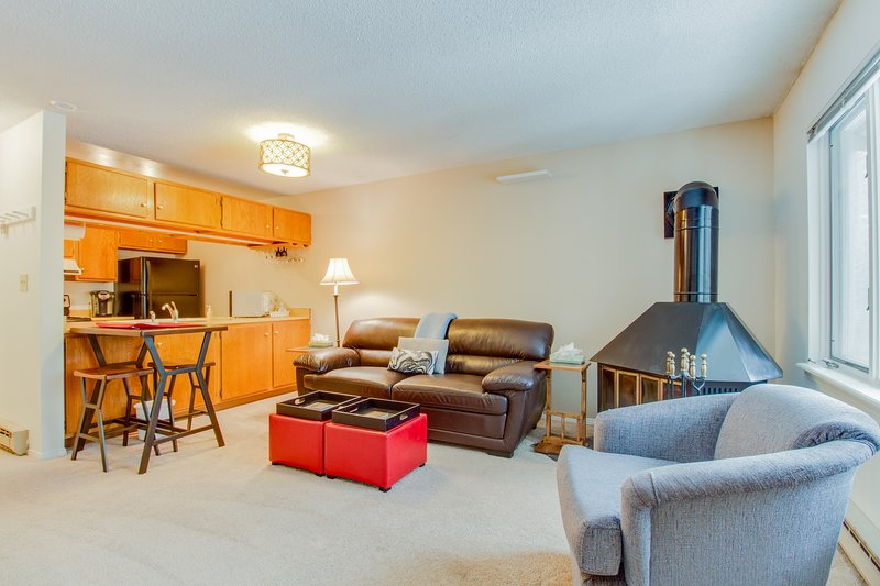 Ski-in/ski-out from this cozy, family-friendly mountain condo - walk to town! Chalet in Breckenridge