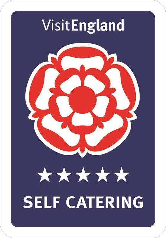 5 STAR Visit England Self Catering Accommodation Rating