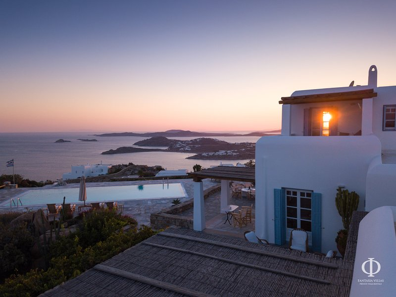 Villa Aegean Dream, holiday rental in Psarou