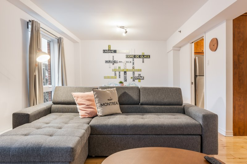 Aylwin 301 - loft mezzanine + terrace in trendy neighborhood, vacation rental in Longueuil
