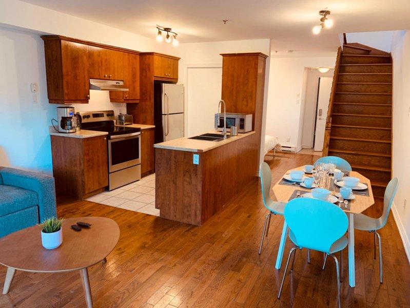 Aylwin 308 - loft mezzanine + terrace in trendy neighborhood, casa vacanza a Longueuil