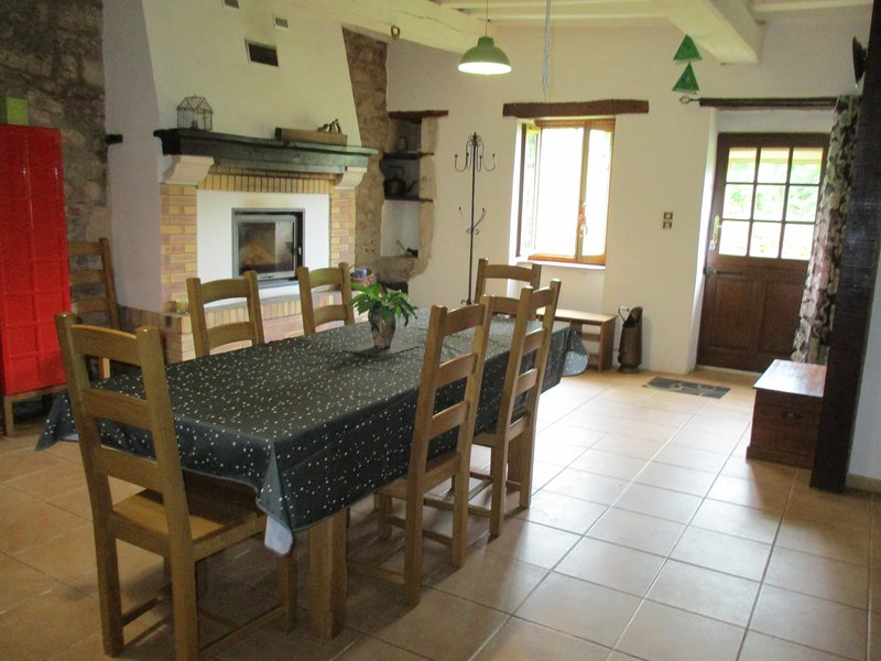Gîte Le jardin de Zola, vacation rental in Asnan