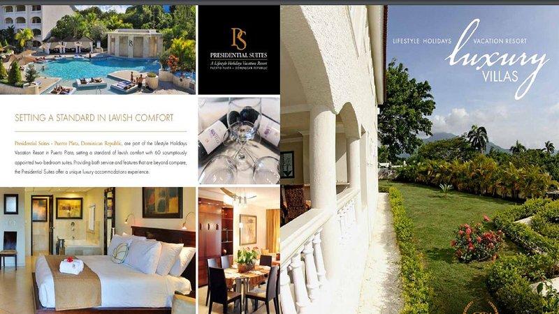 Presidential Suites at Lifestyle Holiday Resort 2 Bedroom, vakantiewoning in Luperon