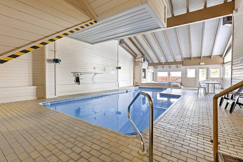 ¡Las numerosas instalaciones del complejo te hacen sentir como si estuvieras de vacaciones!