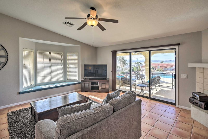 Inside, you'll find nearly 3,000 square feet of well-appointed living space.
