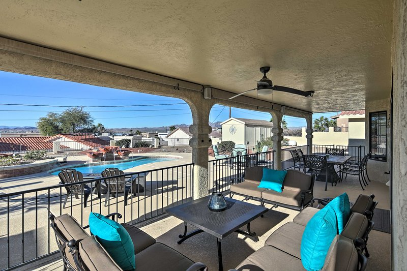 Fall in love with Lake Havasu from this 3-bedroom, 2-bath vacation rental!