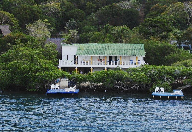 Casa Blanca Baru, Ferienwohnung in Islas de Rosario