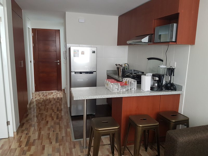 LIMA FLATS 6 1D CERCA A MIRAFLORES (10 MIN), holiday rental in Lima