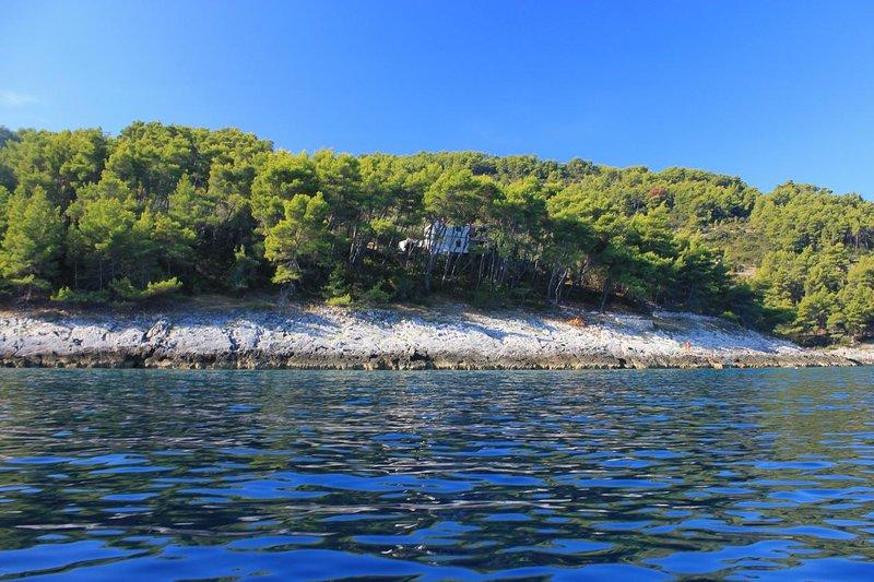 Two bedroom house Cove Spiliška, Korčula (K-9142), vacation rental in Blato