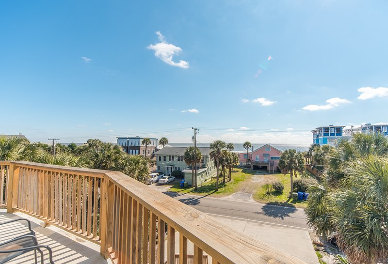 Unforgettable Ocean View from the lower deck