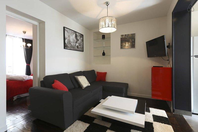 Appartement moderne à la Mairie de Saint Ouen, location de vacances à Saint-Denis