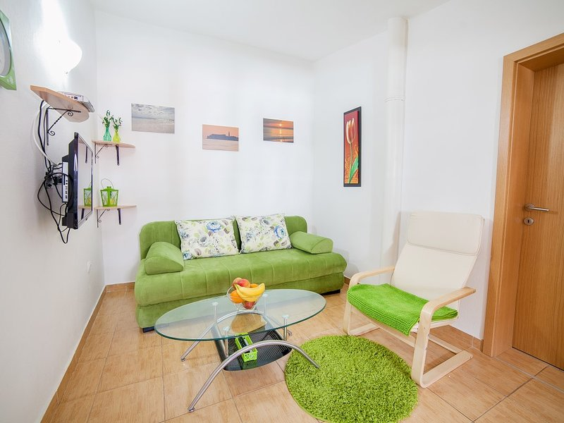 Apartments Viktorija - Two-Bedroom Apartment with Balcony, holiday rental in Canj