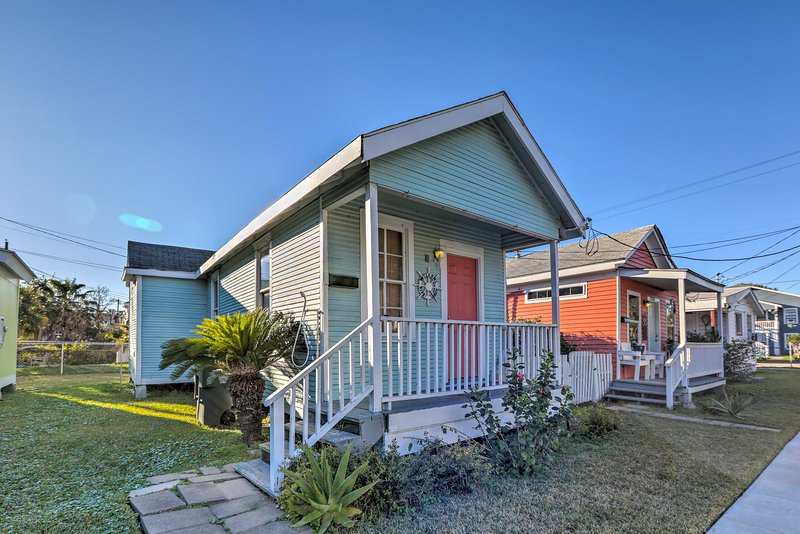 Make the most of your Texas retreat at this 1-BR, 1-BA vacation rental cottage.