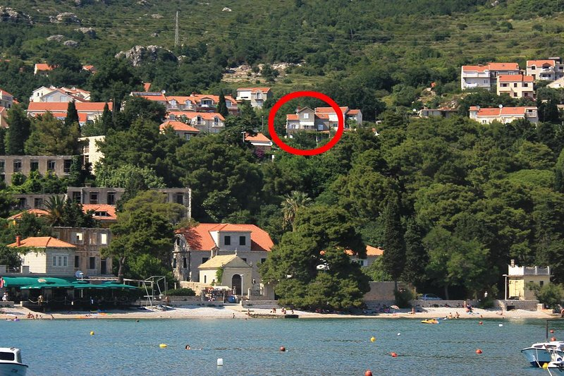 Studio flat Mlini, Dubrovnik (AS-9043-a), vacation rental in Srebreno