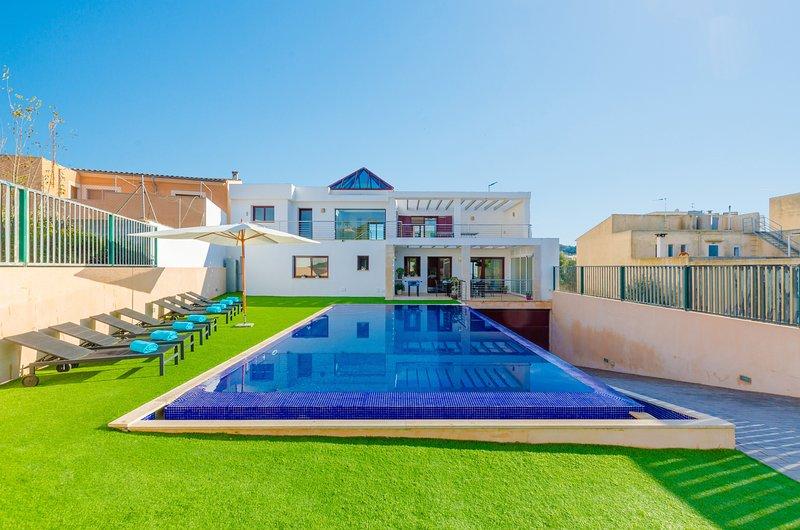 VILLA PUIGVERD - Villa for 8 people in Felanitx, vacation rental in Felanitx