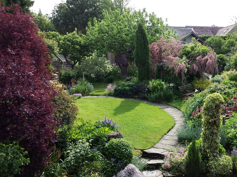 Beautiful established garden