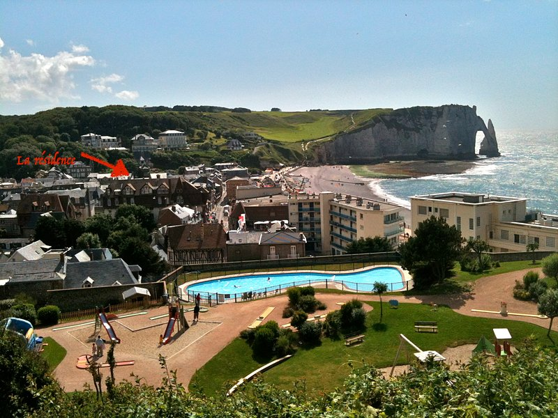 Etretat, 3 Pièces de charme idéalement situé Mer, vakantiewoning in Etretat