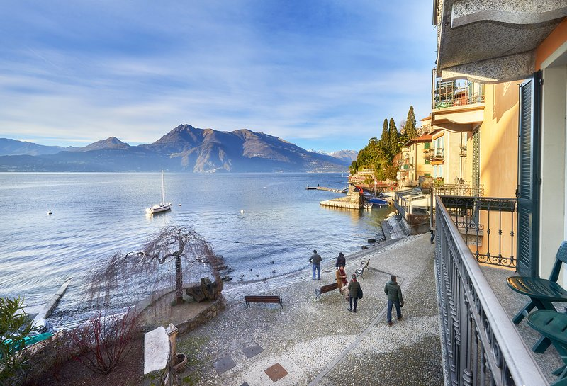 Casa Riva in Varenna on lakeshore, alquiler de vacaciones en Varenna