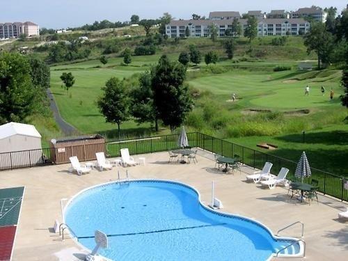 Área de la piscina de Grennsview Branson