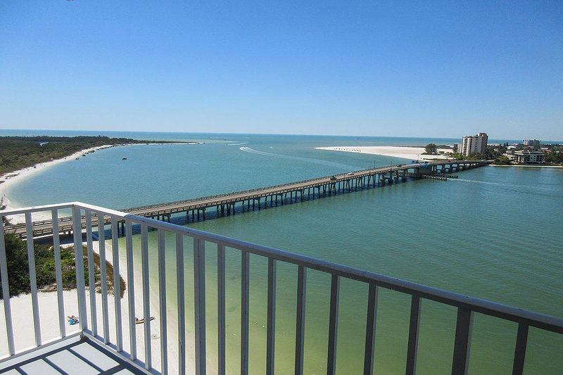 Lovers Key Beach Club 1102 - Fabulous Balcony View of the Gulf from this 11th Floor Vacation Condo Lovers Key Beach Club 1102