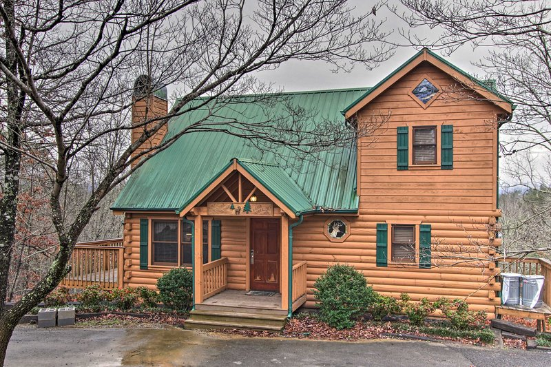 Escape to Pigeon Forge at this secluded vacation rental home!