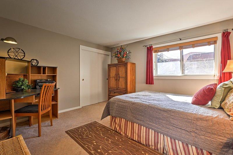 Camera 2 è dotata anche di un letto matrimoniale.