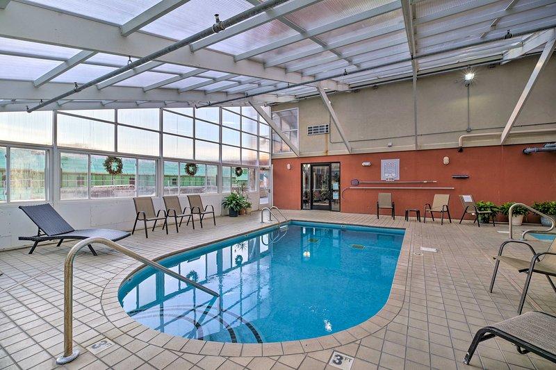 Goditi tutti i comfort di casa oltre a servizi in stile resort come questa piscina!
