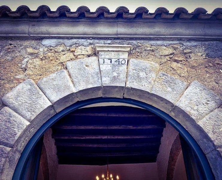 Villa Inspirante, a Venetian Villa in Corfu, holiday rental in Kanálion