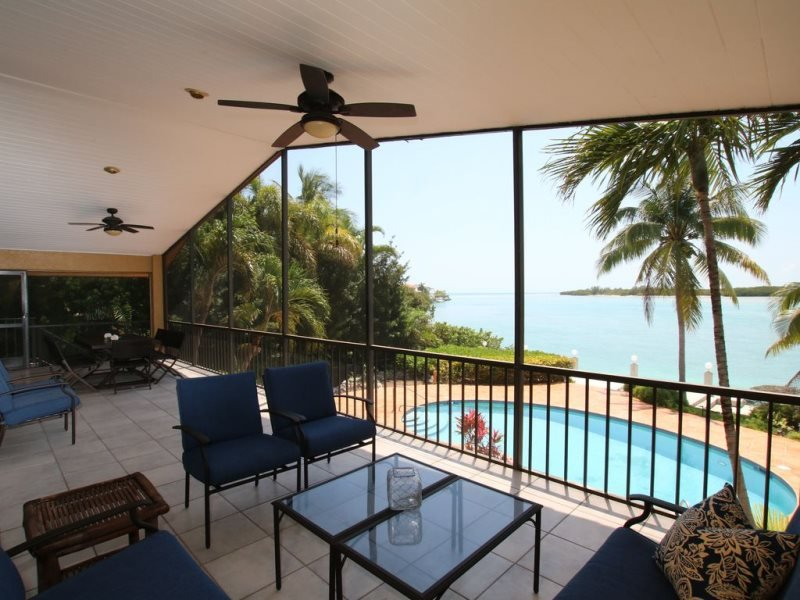 Forever Sunset 5bed/3bath open water views with pool & dockage, location de vacances à Conch Key