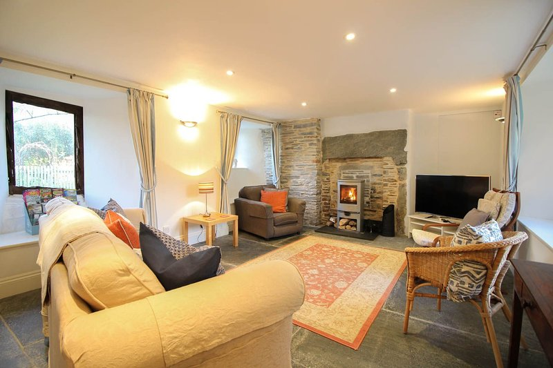 Fontevrault Cottage, vacation rental in Tintagel