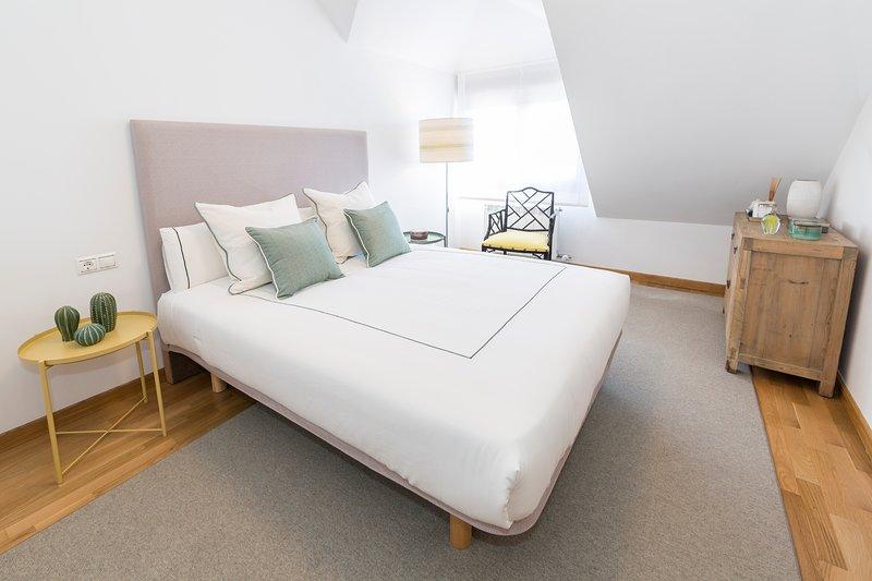 Apartamento boutique con terraza y vistas al mar, vacation rental in Vilanova de Arousa