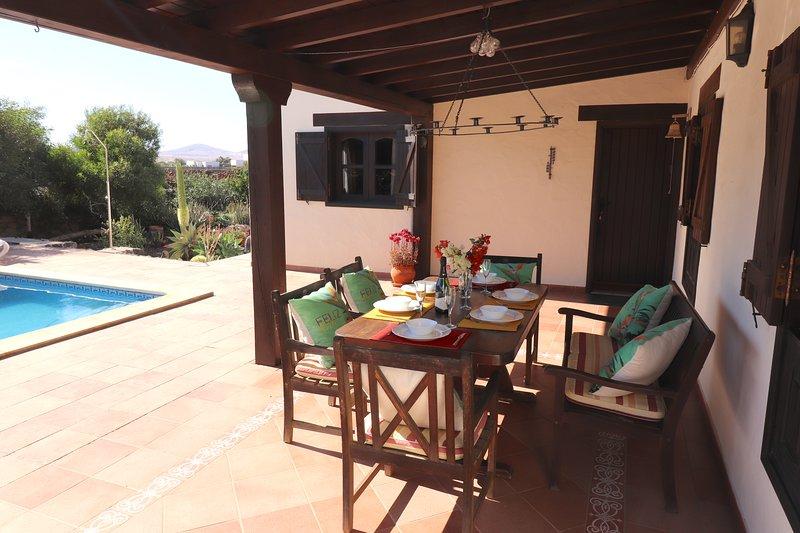 Villa Flora, holiday rental in Lajares