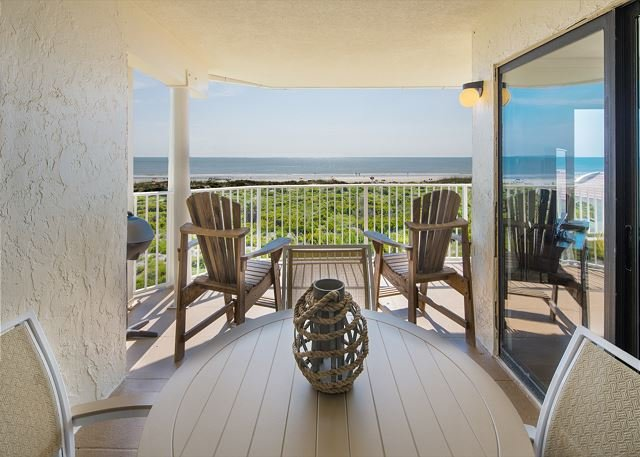 Oceanfront at Colony Reef Club with excellent views 3 bedrooms 2 bathrooms – semesterbostad i Saint Augustine
