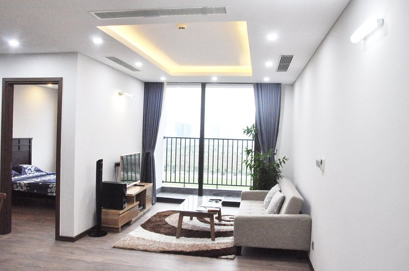 Clean & Quite new apt in Hanoi, good view & lake, holiday rental in Son Tay