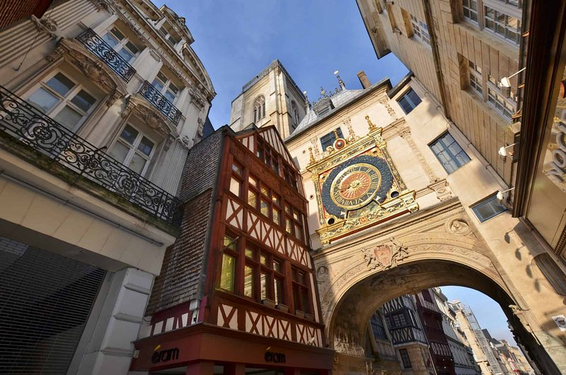 Big-clock in Rouen