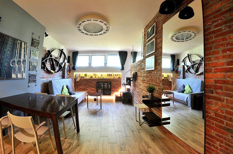 Alder Apartments - Loft 1, casa vacanza a Wegrzce