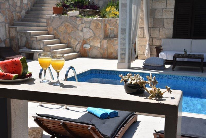 Villa Bluesun, vacation rental in Selca