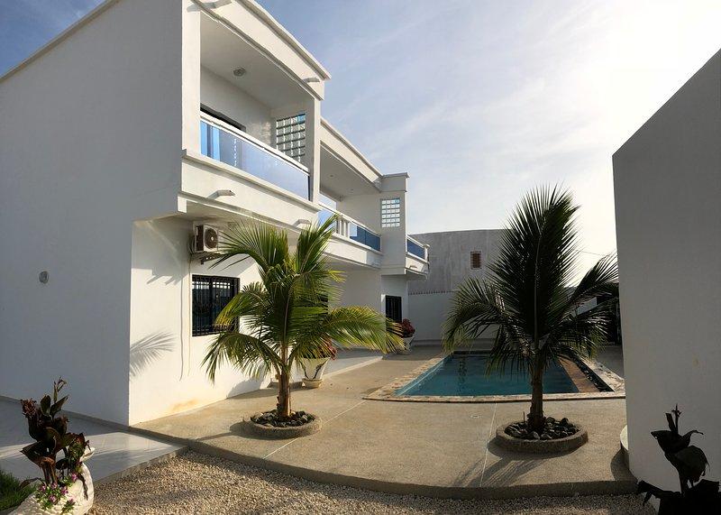 La villa blanche de la somone, vacation rental in La Petite Cote