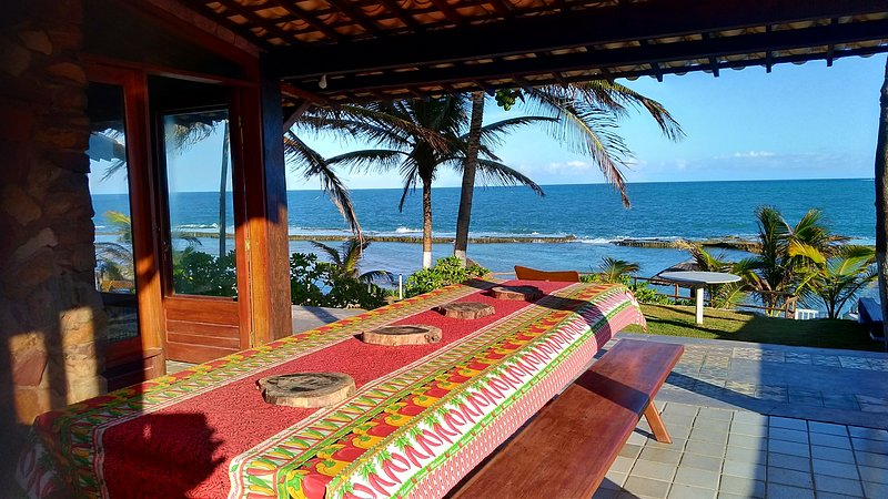 Pontal dos Sonhos- Casa Farol Beira Mar 3 Suites, holiday rental in State of Alagoas