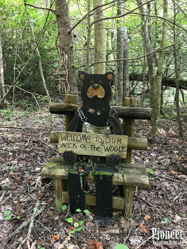 Saludos de un oso amistoso.