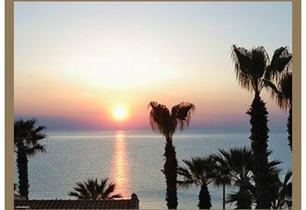 Engrossed in the breathtaking sunset, holiday rental in Fourka