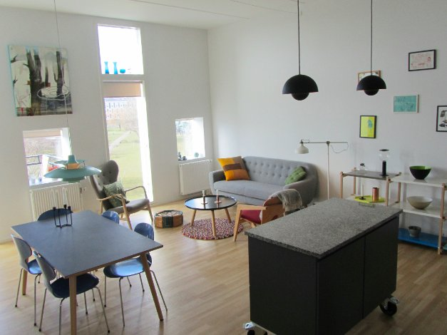 Spacious and family friendly penthouse apartment in Copenhagen, holiday rental in Alleroed Municipality