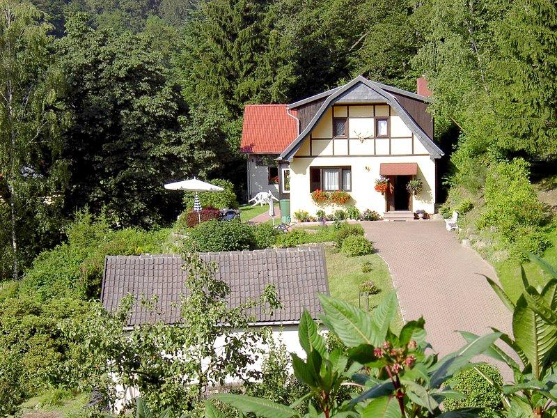 Birkenhain der Ort mit der besten Aussicht am Südhang, holiday rental in Urbach