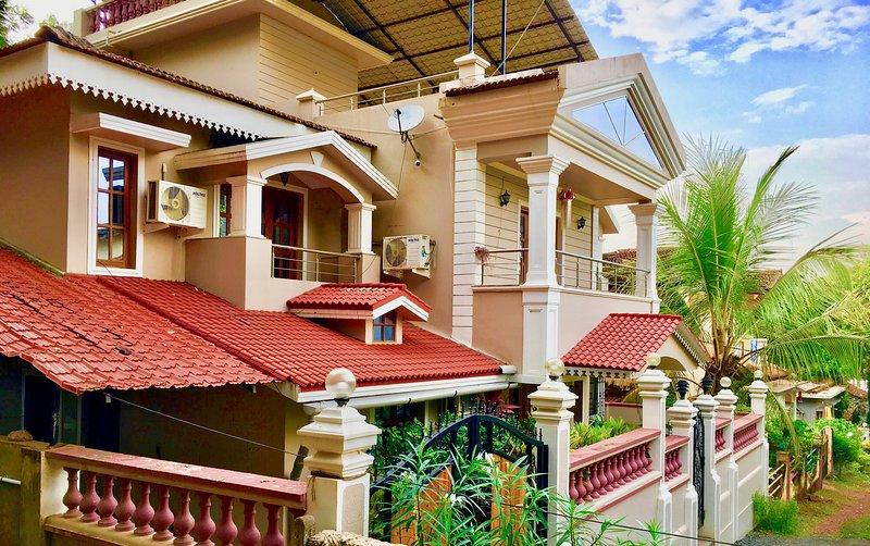 Green Chimes Villa Goa, holiday rental in Verla Canca